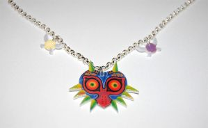 The Legend of Zelda Majoras Mask Fairies Necklace by knil-maloon