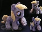 Filly Derpy and her muffin by Chibi-pets