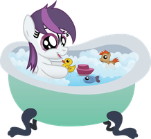 Gale Force in a tub by Jakage