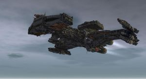 Hybrid Battlecruiser 1 by mhe608