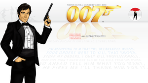 James Bond 007 4 by CosmicThunder