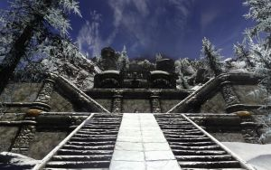 Skyrim - Scenery 3/5 by Euther