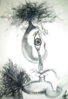 Tears of explosion-From a tear by Linko