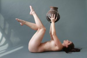 Carlotta and Vase Stock 9 by ERIEYE-STOCK