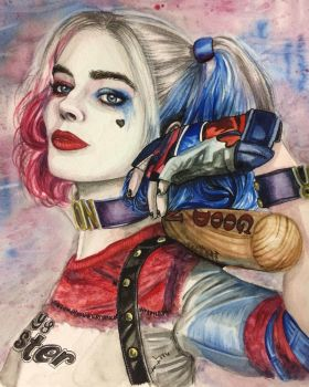 Harley Quinn by WhatYouMeanToMe