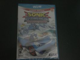 All-Stars Racing Transformed on Wii U by DestinyDecade