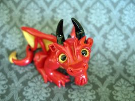 The red dragon by Ingridda