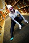 Spider-Gwen - 2nd and Charles Event by thatsthatonegirl