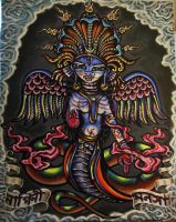 manasa the snake goddess by cannibol