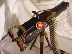 Steampunk Vickers Machinegun MK1. by Captain-Stef-Canon