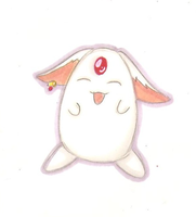 Mokona by Bluejotain