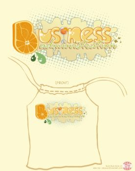 Business Administration Tee by MegLim