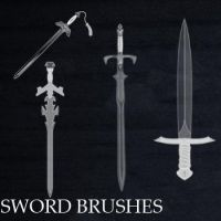 Sword Brushes by remygraphics