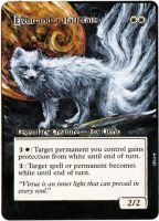 Magic the Gathering Alter: Eight-and-a-Half-Tails by Ondal-the-Fool
