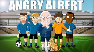 Angry Albert - Poster by 0parkp