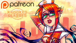 Patreon Re-Opened! by Krooked-Glasses
