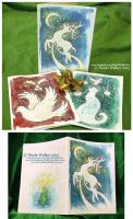 Hand-Painted Christmas Cards by Nicole-Marie-Walker
