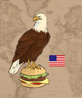 The World as Animals: USA by thetourist93