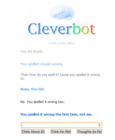 Clever bot is s-t-u-p-i-d by LotusKoi