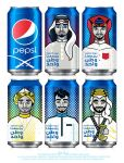 Saudi National Day Pepsi Can Design by MissChatZ