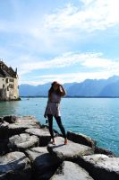 Switzerland Montreux and me by Keitrina