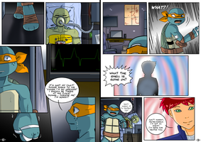 TMNT TCRI 2105: Page 10 - 11 by KameBoxer