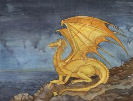 Dragon of the North Star by DavidHoffrichter
