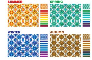 Seasons by Colors by leographics