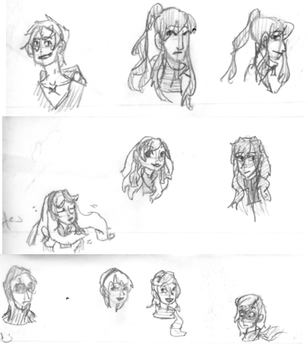 Sketches by GoldFig