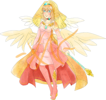Seraph priestess Adopt auction -open reduced price by xyrria-nazaine