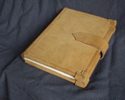 Hand made bookbind - back by Kiscien