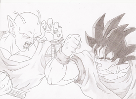 Dragon Ball Z Sketch by SettoriQ