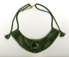 Leaf Necklace by Wabbit-t3h