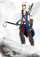 AC3: Connor Kenway by BlackKitty68