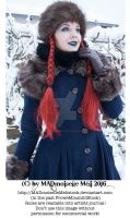 Wintertale Vintage Goth Girl Stock 006 by MADmoiselleMeliStock