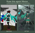 Emnily's Love is War (Draw This Again Comparison) by TheRebornAce