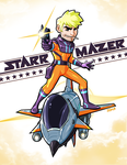 Starr Mazer - Brick M Stonewood and the Starr Wolf by Kaigetsudo