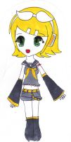 Kagamine Rin Coloured by matsuiyurie