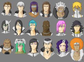 Faces of Hueco Mundo -Practice by J0S3F3R