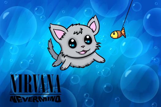 Nevermind - Cat ver. by deviruchii
