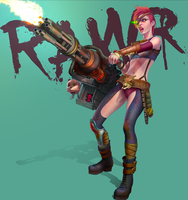 RAWR - Bitch of the Wastes by CamBoy
