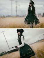 I found you - Military Lolita by MaySakaali