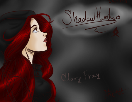 Mortal Instruments: Clary Fray by JAYNE-HZ