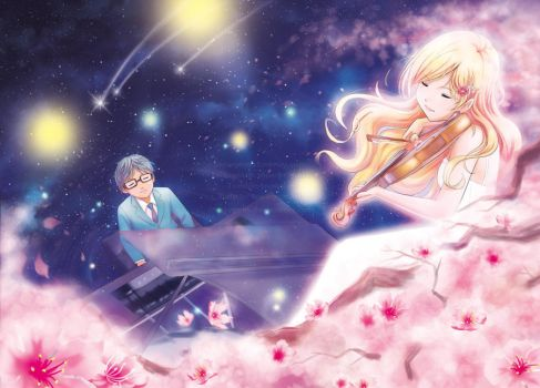 Your Lie in April - Kousei's Image by snowygem