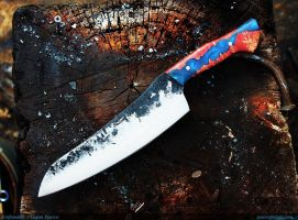 Spiderman kitchen knife by Logan Pearce by Logan-Pearce