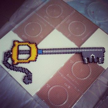 KeyBlade BeadSprite by ddralson