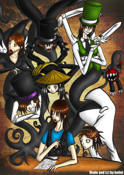 Too Many Persona's by heilei