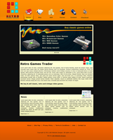 Retro Games Website by draywin848