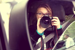 Portrait with my Camera it's my Baby! by BumbleBee2015