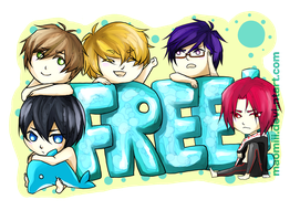 Free! Iwatobi Swim Club! by kittyalyst